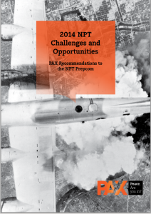 Cover NPT recommendations 2014