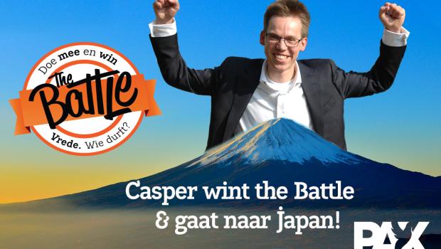 TTK - winnaar Casper no nukes