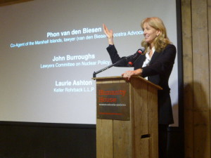 """Laurie Ashton explaining """"one hand clapping"""" argument of the UK"""