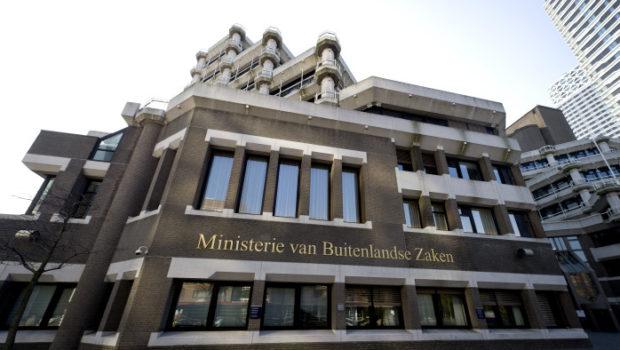 DEN HAAG - Ministerie van Buitenlandse Zaken. ANP VALERIE KUYPERS