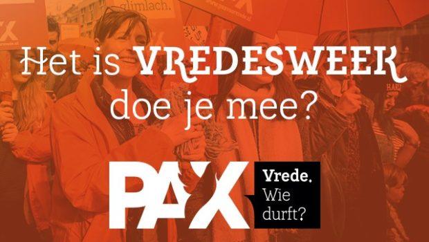 Afbeelding Vredesweek PAX