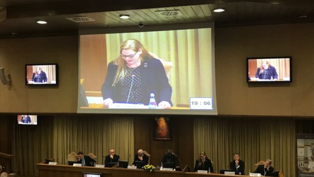 Susi Snyder speech Vatican Conference Nuclear Disarmament 11112017